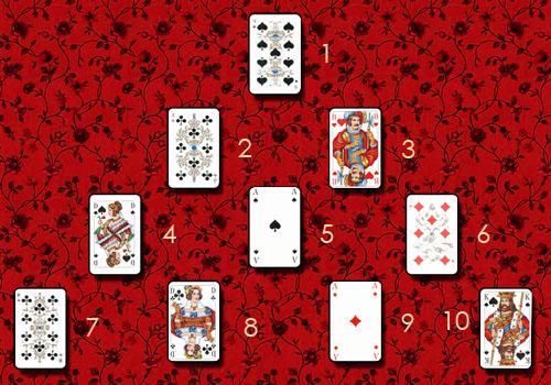 Разные расклады (для игральных карт) Piramida